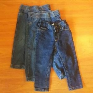 Other - 18 Month Lot Jean (3 Pair) Girl (p34)